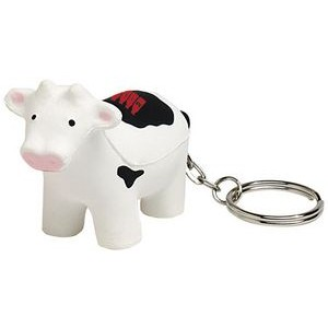 Cow Keyring Squeezies� Stress Reliever